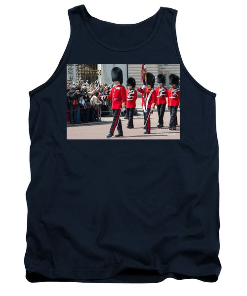 Changing Of The Guard At Buckingham Palace Tank Top
