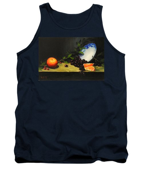 China Bowl And Fruits Tank Top