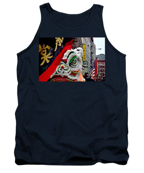 Chinese New Years Nyc  4704 Tank Top by Mark Gilman
