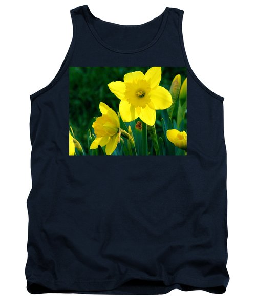 Tank Top featuring the photograph Daffodils by Sherman Perry
