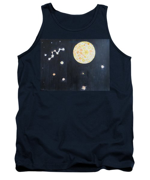Tank Top featuring the painting Dream by Sonali Gangane