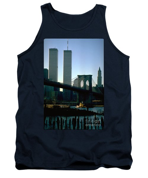 East River Tugboat Tank Top by Mark Gilman