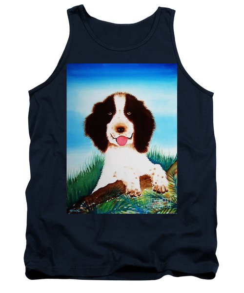 English Springer Spaniel Tank Top