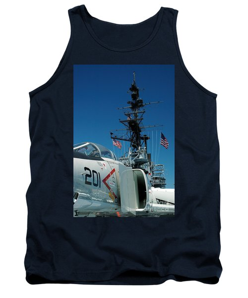 F4-phantom On The Deck Tank Top by Micah May