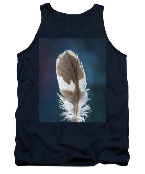 Feather Design Tank Top