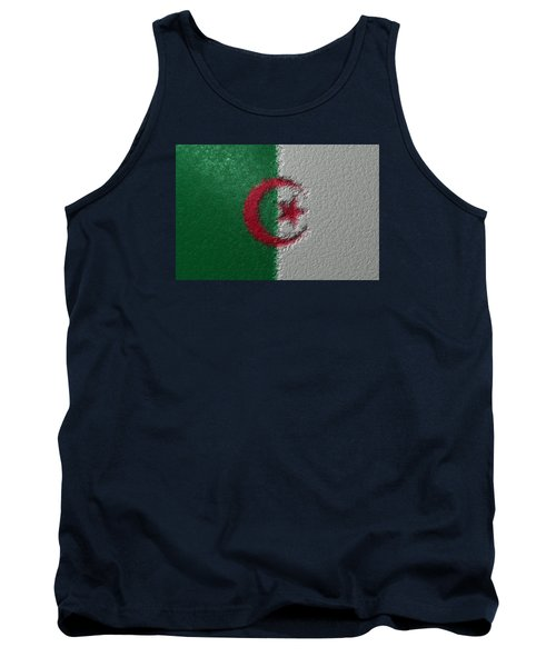 Tank Top featuring the digital art Flag Of Algeria by Jeff Iverson