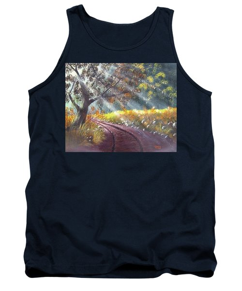Forest Sunbeams Tank Top