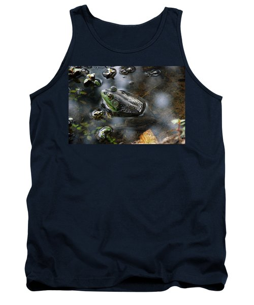 Frog In The Millpond Tank Top