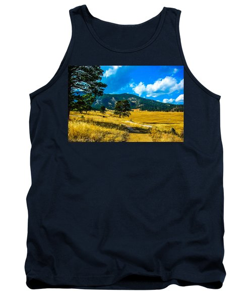 Tank Top featuring the photograph God's Country by Shannon Harrington