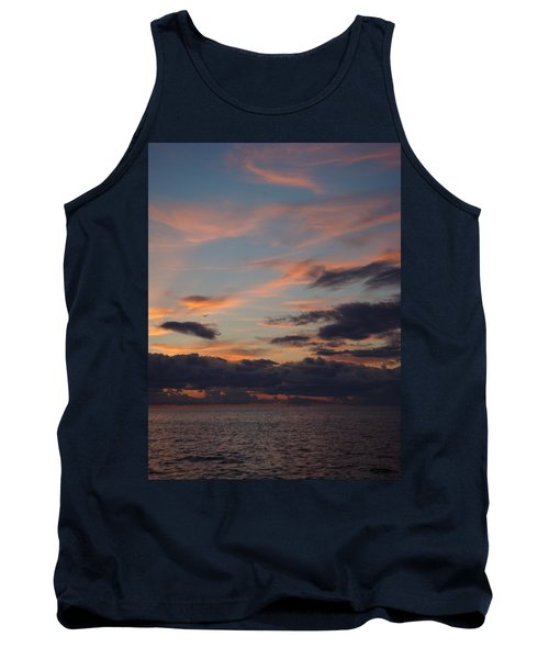 Tank Top featuring the photograph God's Evening Painting by Bonfire Photography