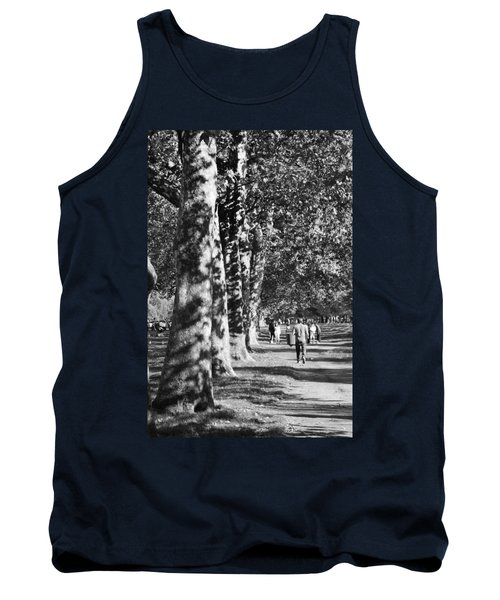 Tank Top featuring the photograph Hyde Park Trees by Maj Seda