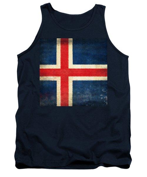 Iceland Flag Tank Top