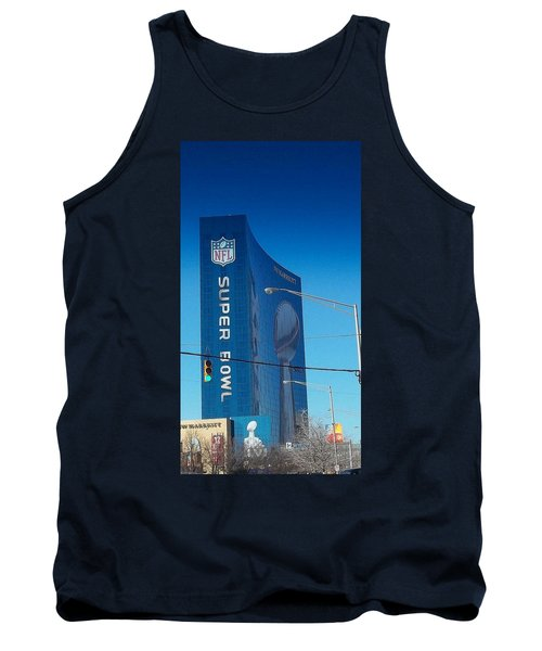 Indianapolis Marriott Welcomes Super Bowl 46 Tank Top
