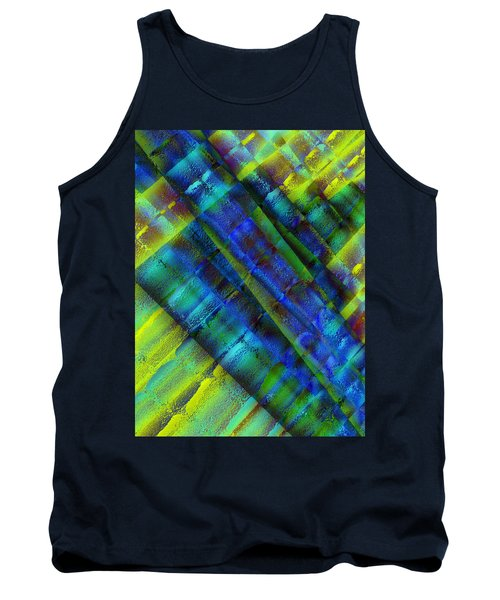 Tank Top featuring the photograph Layers Of Blue by David Pantuso
