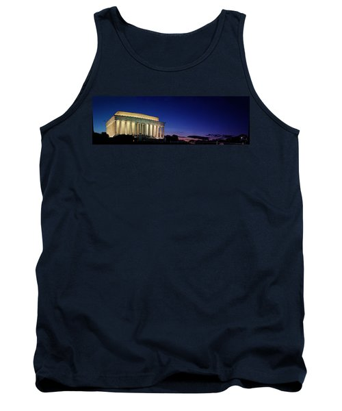 Lincoln Memorial At Sunset Tank Top