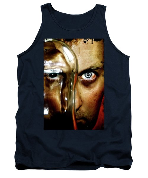 Tank Top featuring the photograph Mad Man by Pedro Cardona