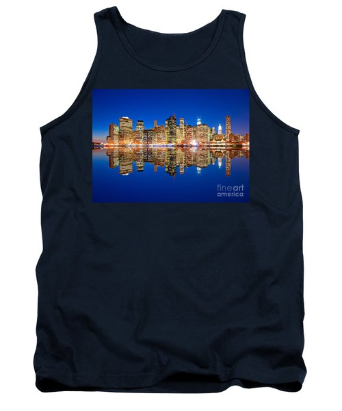 Tank Top featuring the photograph Manhattan by Luciano Mortula
