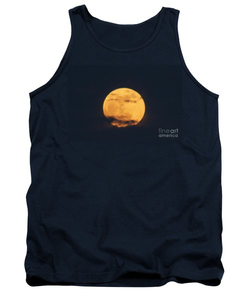 Tank Top featuring the photograph Moon by William Norton