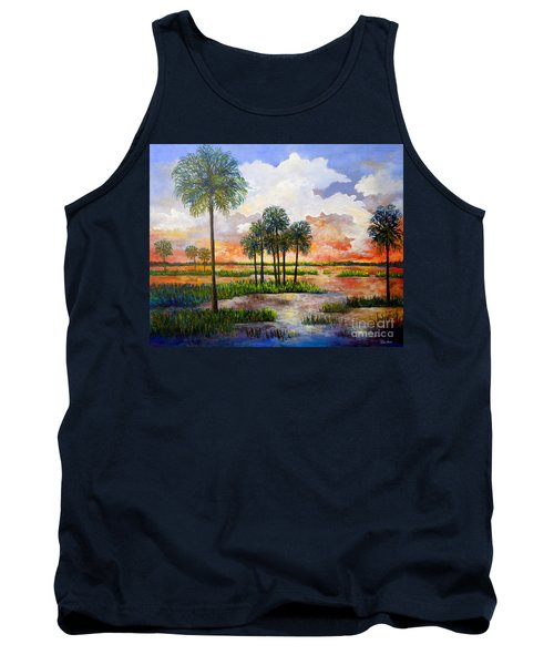 Myakka Sunset Tank Top by Lou Ann Bagnall