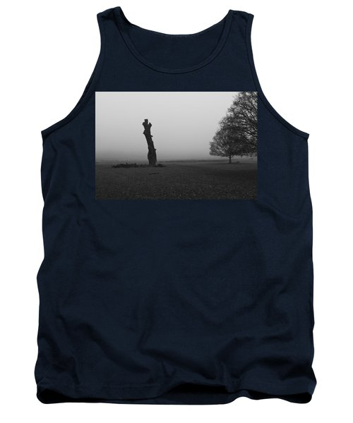 Tank Top featuring the photograph Naked Tree by Maj Seda
