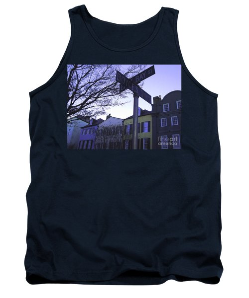Tank Top featuring the photograph Night In Savannah by Andrea Anderegg