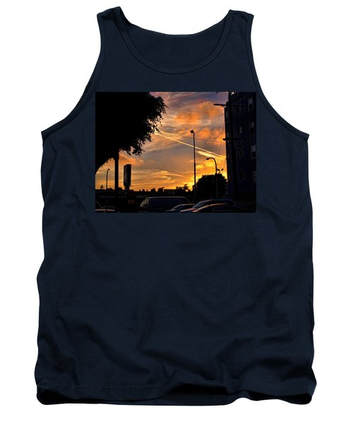 October Sunset 6 Tank Top