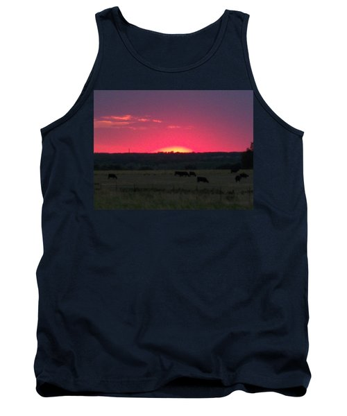 Okie Sunset Tank Top