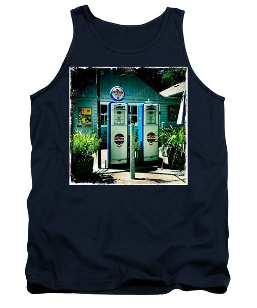 Old Fashioned Gas Station Tank Top