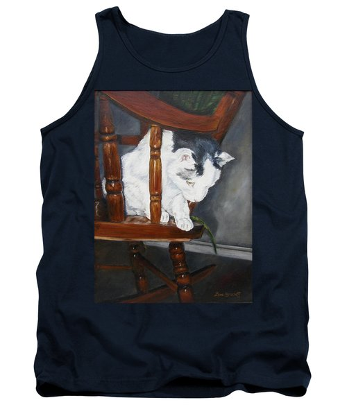 Tank Top featuring the painting Oops by Lori Brackett