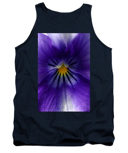 Pansy Abstract Tank Top