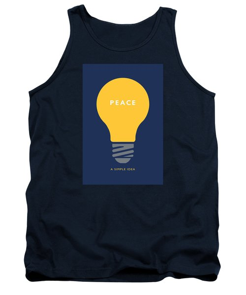 Peace A Simple Idea Tank Top