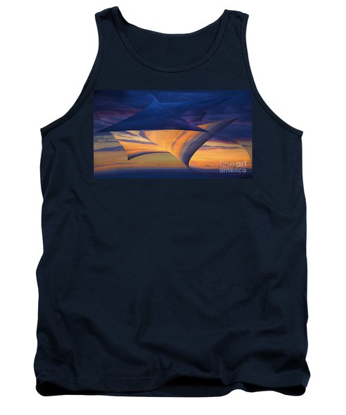 Tank Top featuring the photograph Peeling Back The Layers by Clare Bambers