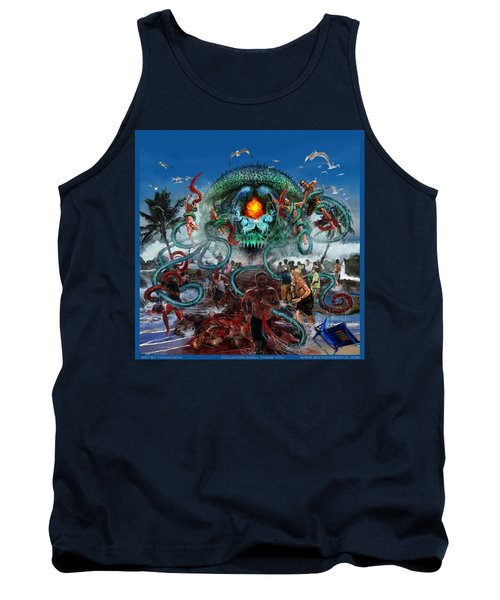 Pollution Shall Thank You Tank Top by Tony Koehl