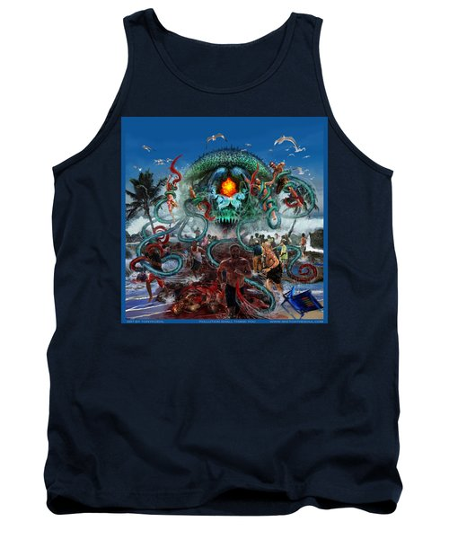 Pollution Shall Thank You Tank Top