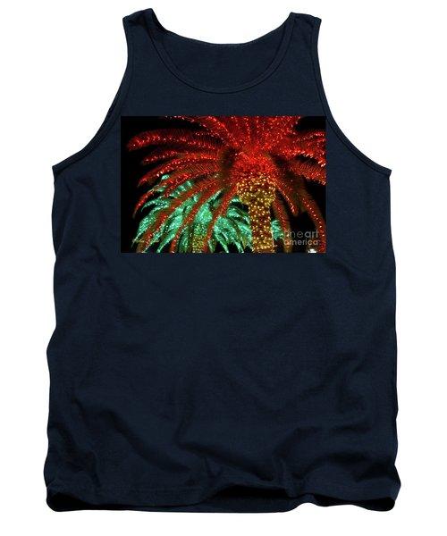 Red Palms Tank Top