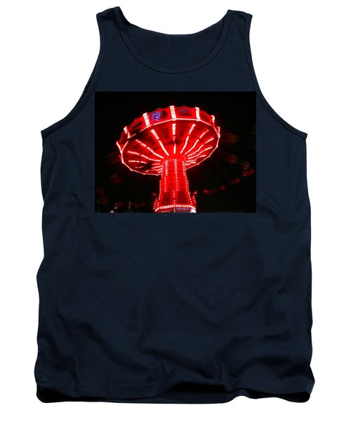 Tank Top featuring the photograph Red Ride Is Wild by Kym Backland