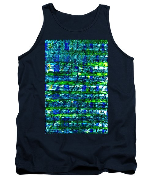 Tank Top featuring the mixed media Rice Harvest by Terence Morrissey