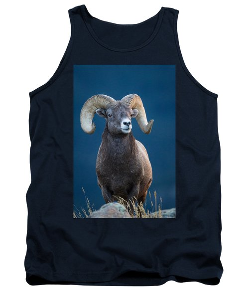 Rocky Mountain Big Horn Tank Top by Ronald Lutz