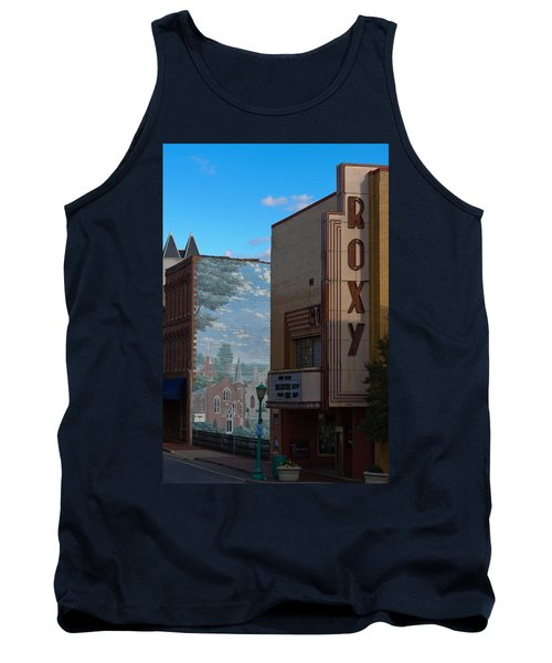 Roxy Theater And Mural Tank Top