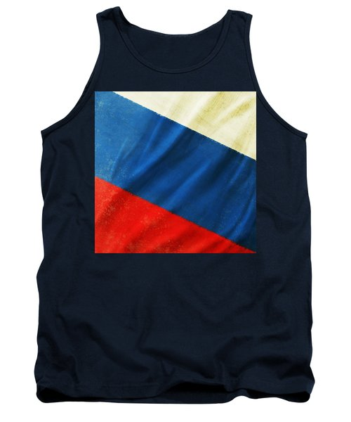 Russia Flag Tank Top