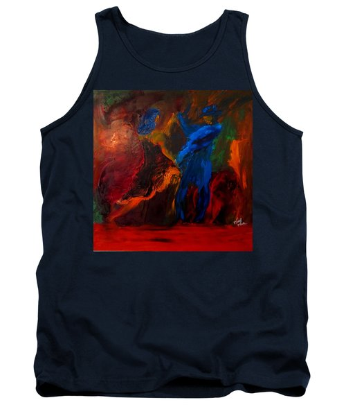 Tank Top featuring the painting Saticha by Keith Thue
