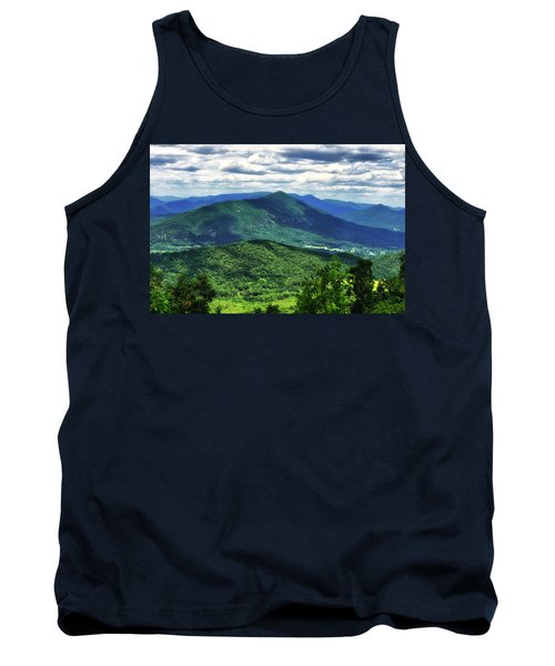 Shadows On The Mountains Tank Top