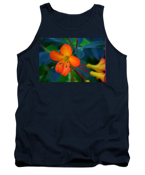 Tank Top featuring the photograph Small Orange Flower by Tikvah's Hope