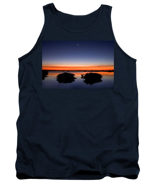 Sunset Moon Venus Tank Top