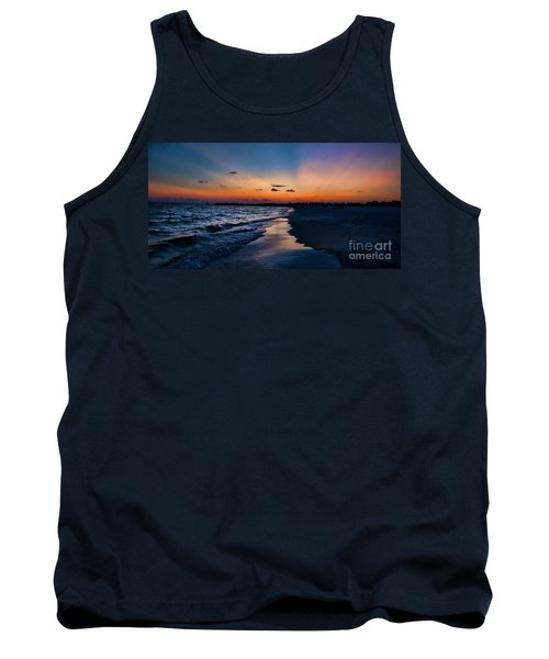 Sunset On The Beach Tank Top