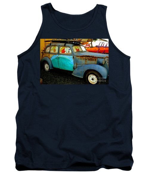 Surf Mobile Tank Top by Mark Gilman