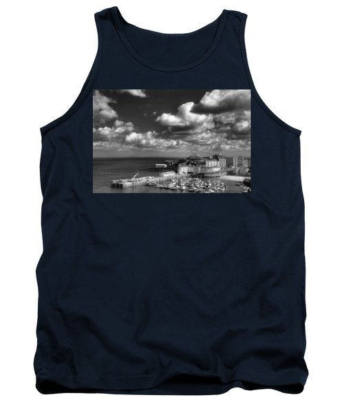 Tank Top featuring the photograph Tenby Harbour by Steve Purnell