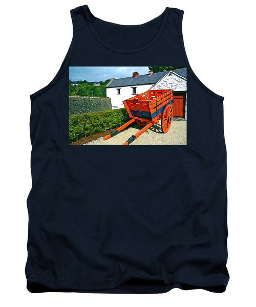 Tank Top featuring the photograph The Cart by Charlie and Norma Brock