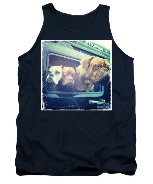The Dog Taxi Is A Hummer Tank Top