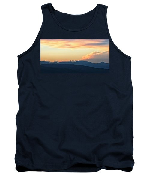 Tank Top featuring the photograph The Idaho Selkirks by Albert Seger